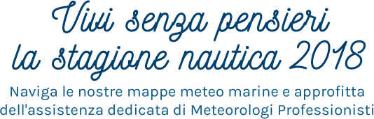 Meteomed Stagione Nautica 2018